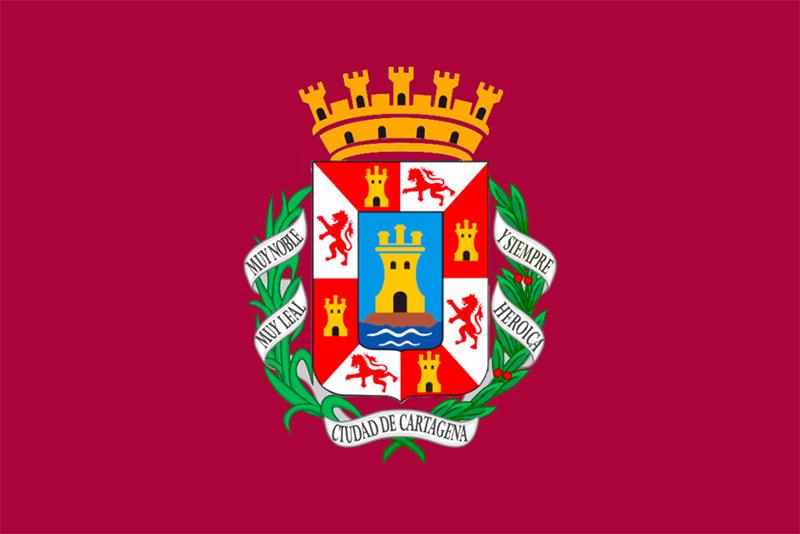 Bandera de Cartagena