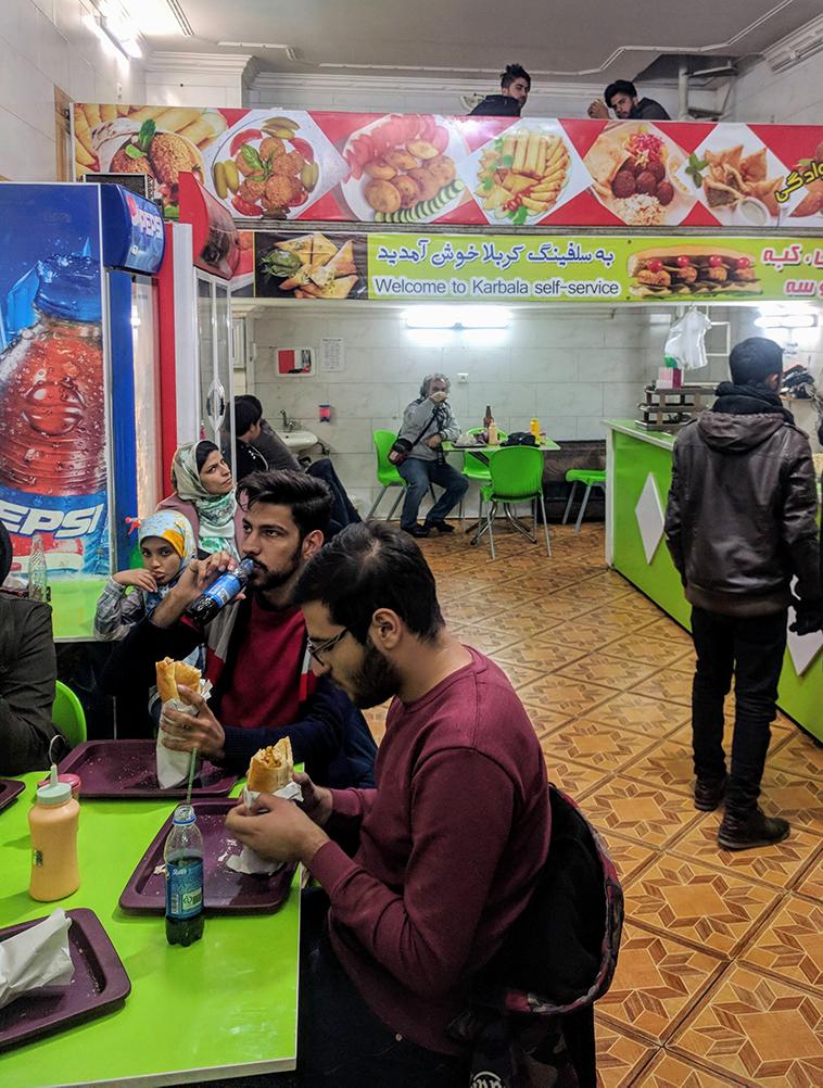 falafelbar in Yazd
