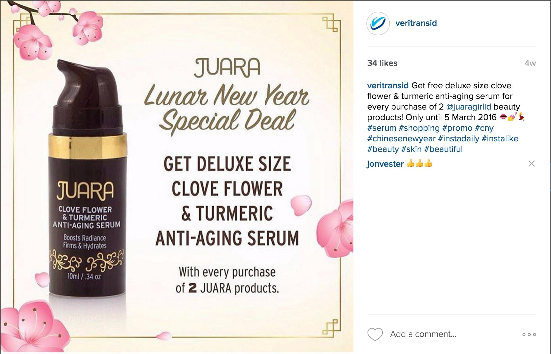 cara promosi instagram