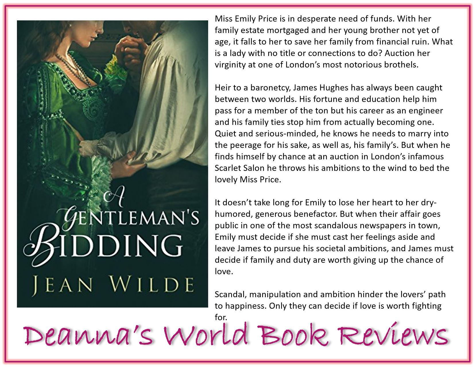 A Gentleman's Bidding by Jean Wilde