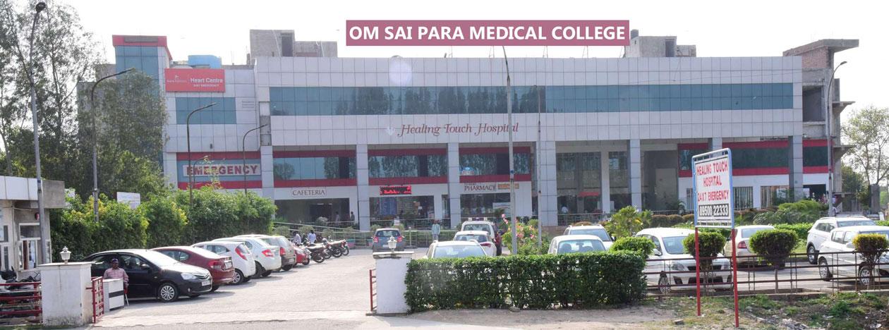 om sai para medical college Image