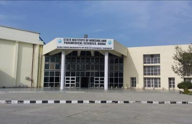 State Institute Of Nursing And Para Medical Sciences, Badal Image