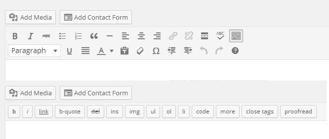 WP Editor - WordPress 3.9