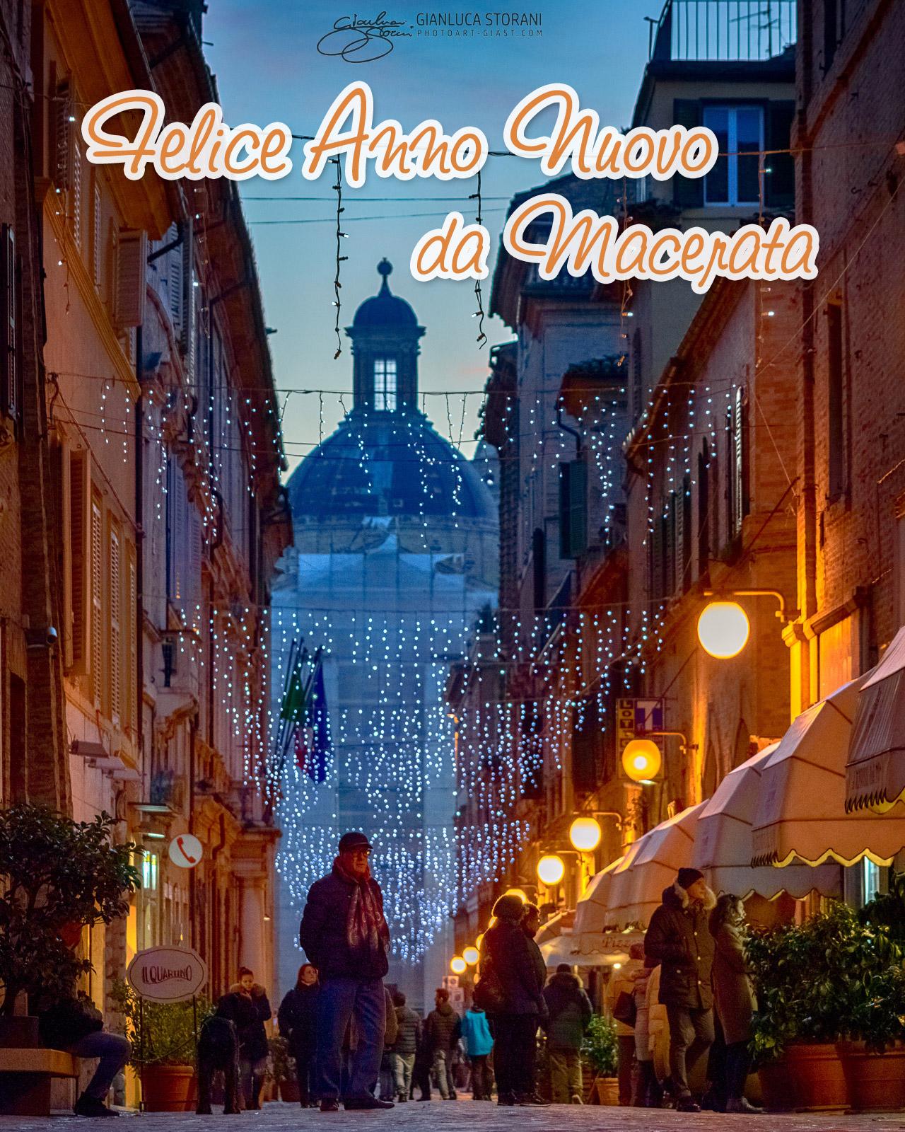 Buon anno dalla città di Macerata - Gianluca Storani Photo Art (ID: 4-7043)