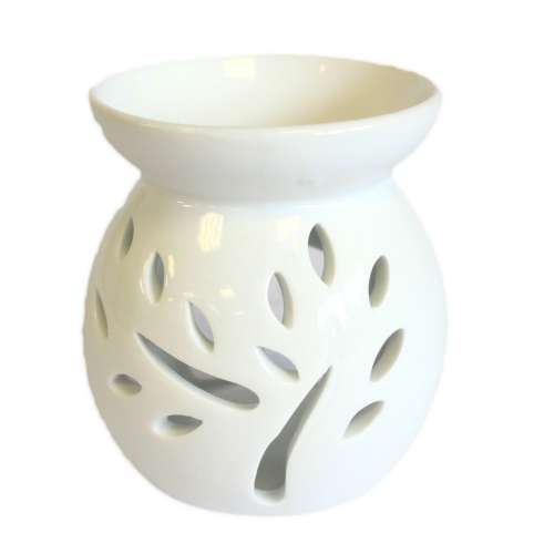 oil and wax burner - tree (small)
