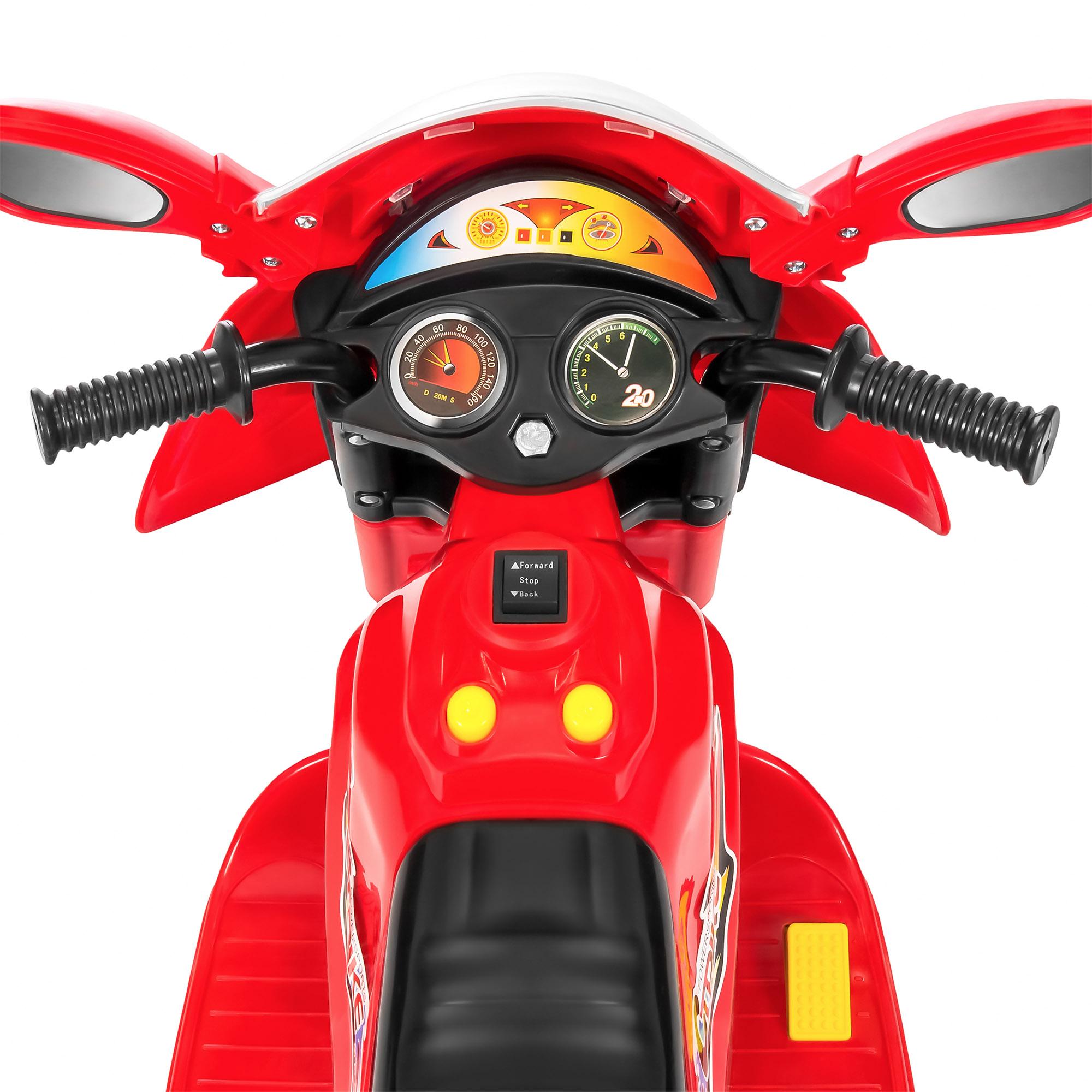 BCP-6V-Kids-3-Wheel-Motorcycle-Ride-On-Toy-w-LED-Lights-Music-Storage thumbnail 34