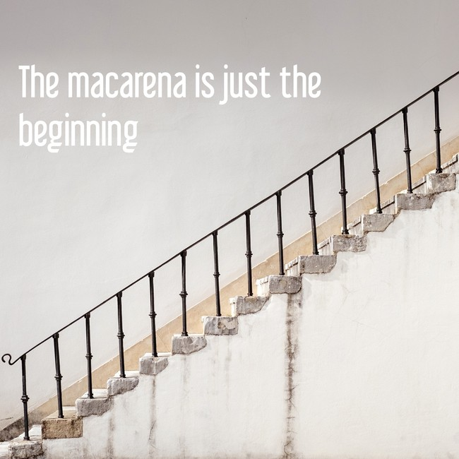 The macarena is just the beginning