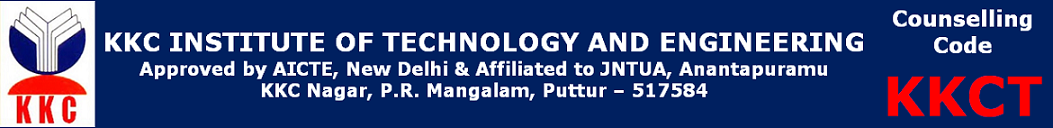 KKC INSTITUTE OF TECHNOLOGY AND ENGINEERING