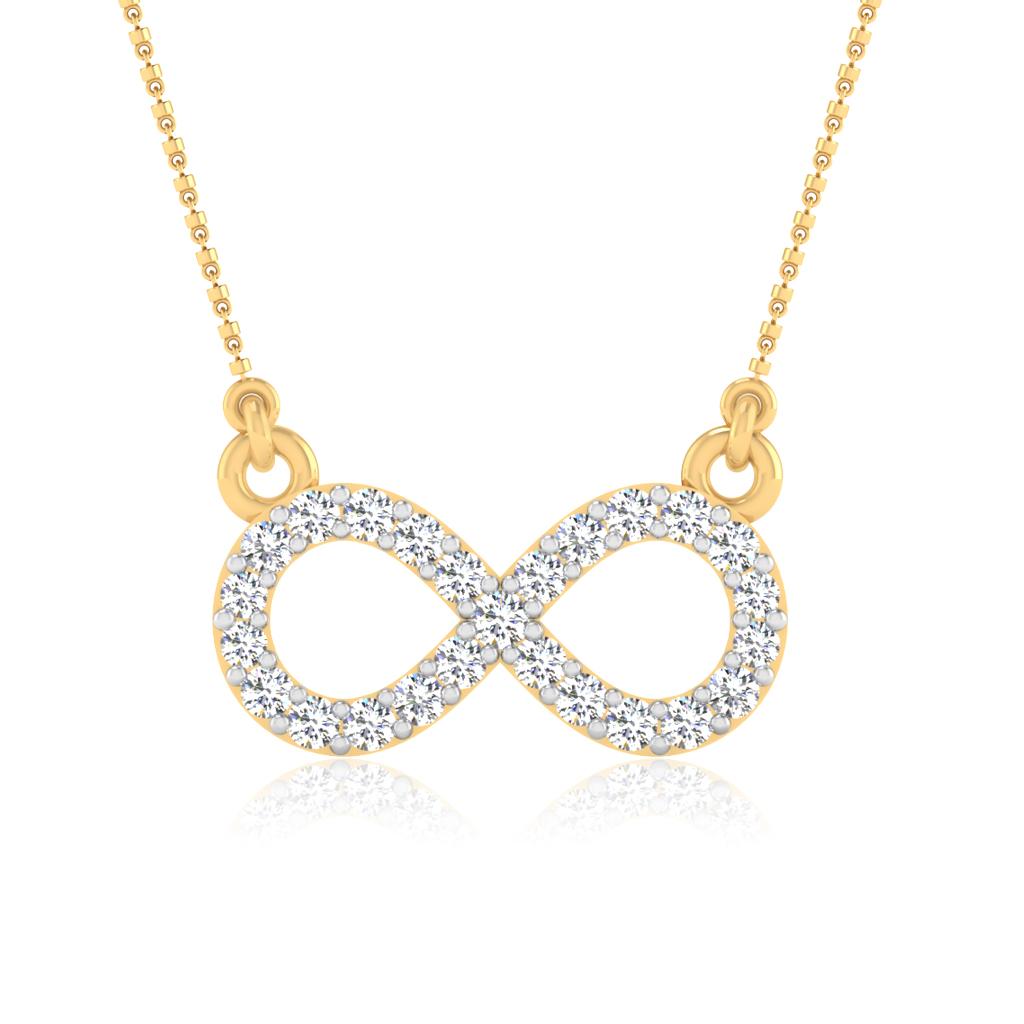 The Eternity Diamond Pendant