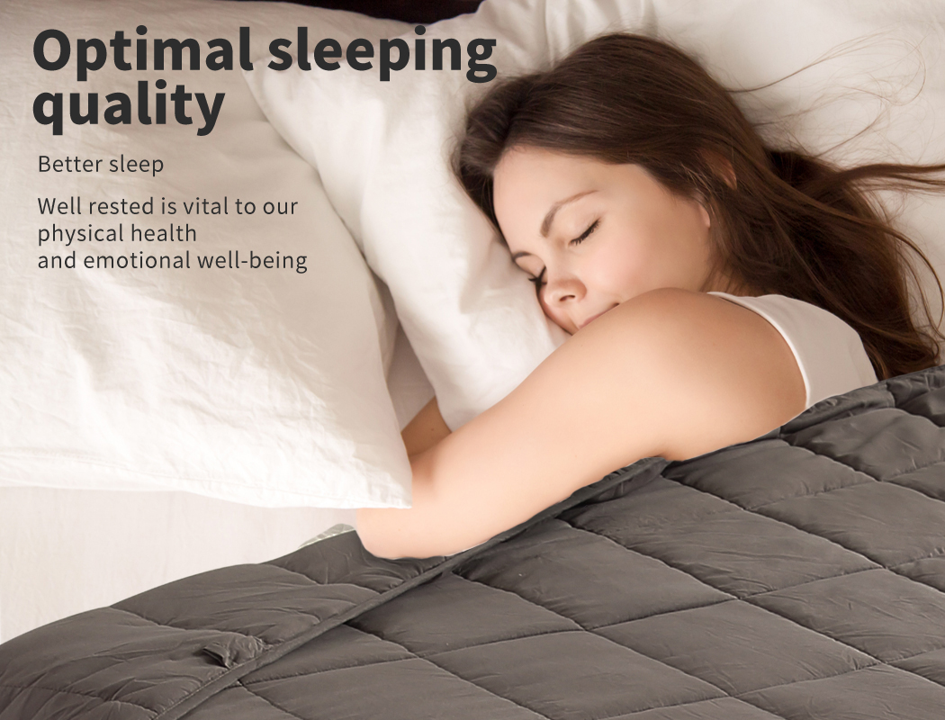 thumbnail 62 - DreamZ Weighted Blanket Heavy Gravity Deep Relax 5/7/9KG Adult Kid Double Queen
