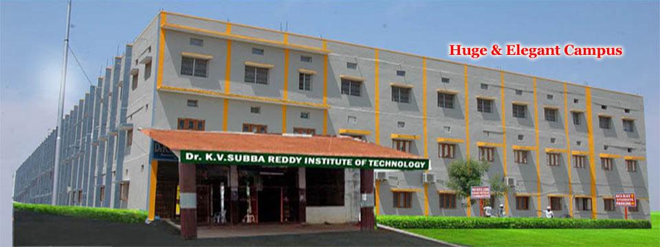 DR. K.V. Subba Reddy Institute of Technology, Kurnool