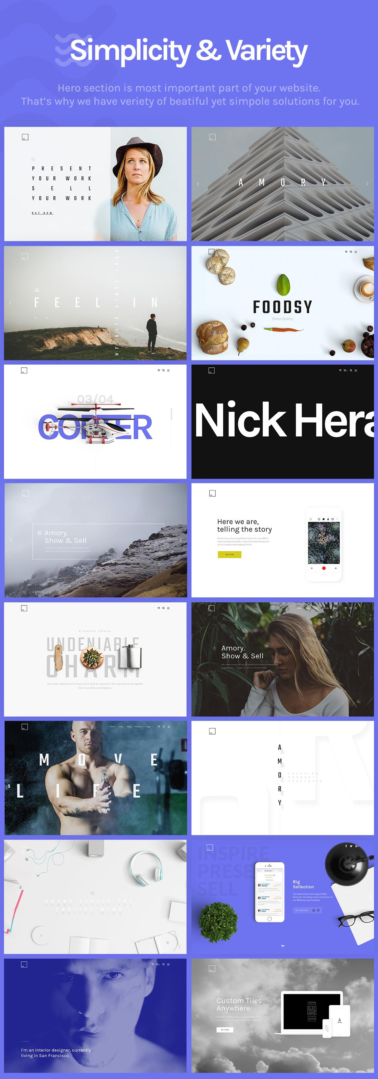 Slide-3-Screens Amory | Responsive Multipurpose WordPress Theme theme WordPress