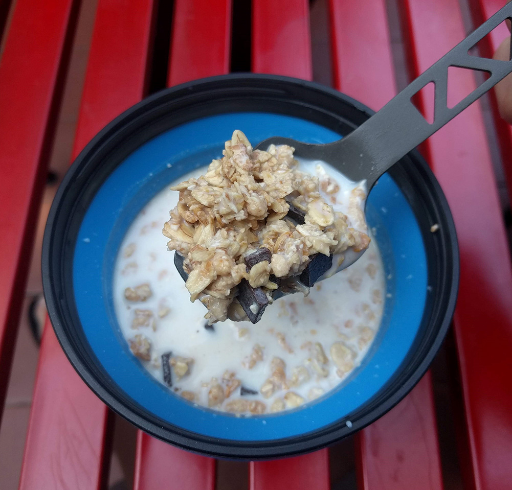 Ook bij het ontbijt komen deze potjes van pas. Bij alles eigenlijk!