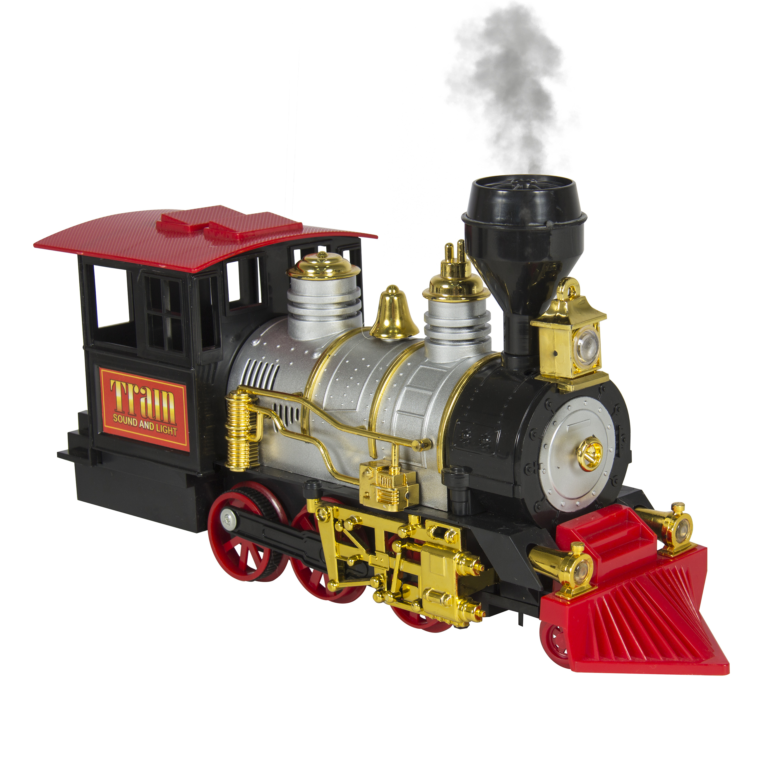 BCP Kids Electric Railway Train Track Set w/ Real Smoke ...