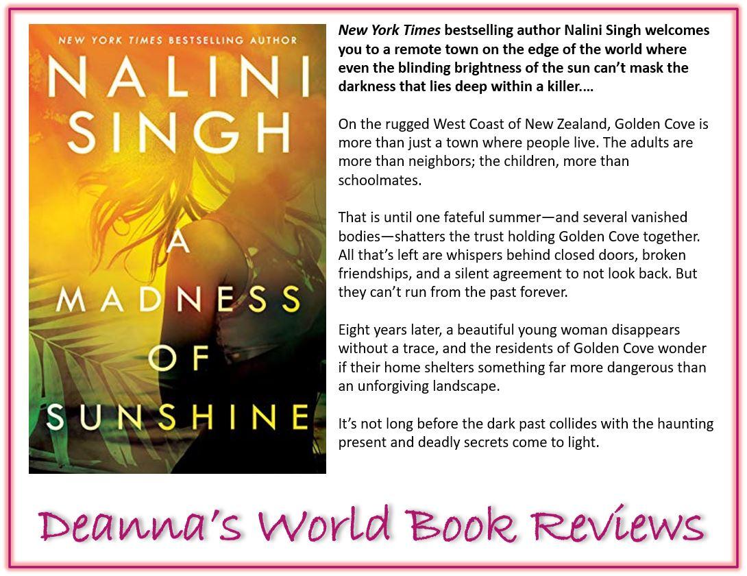 A Madness of Sunshine by Nalini Singh blurb