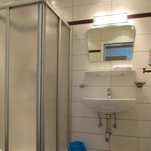 Einzelzimmer - Dusche