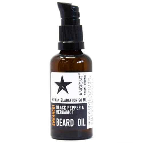 beard oil 50ml - blackpepper & bergamot