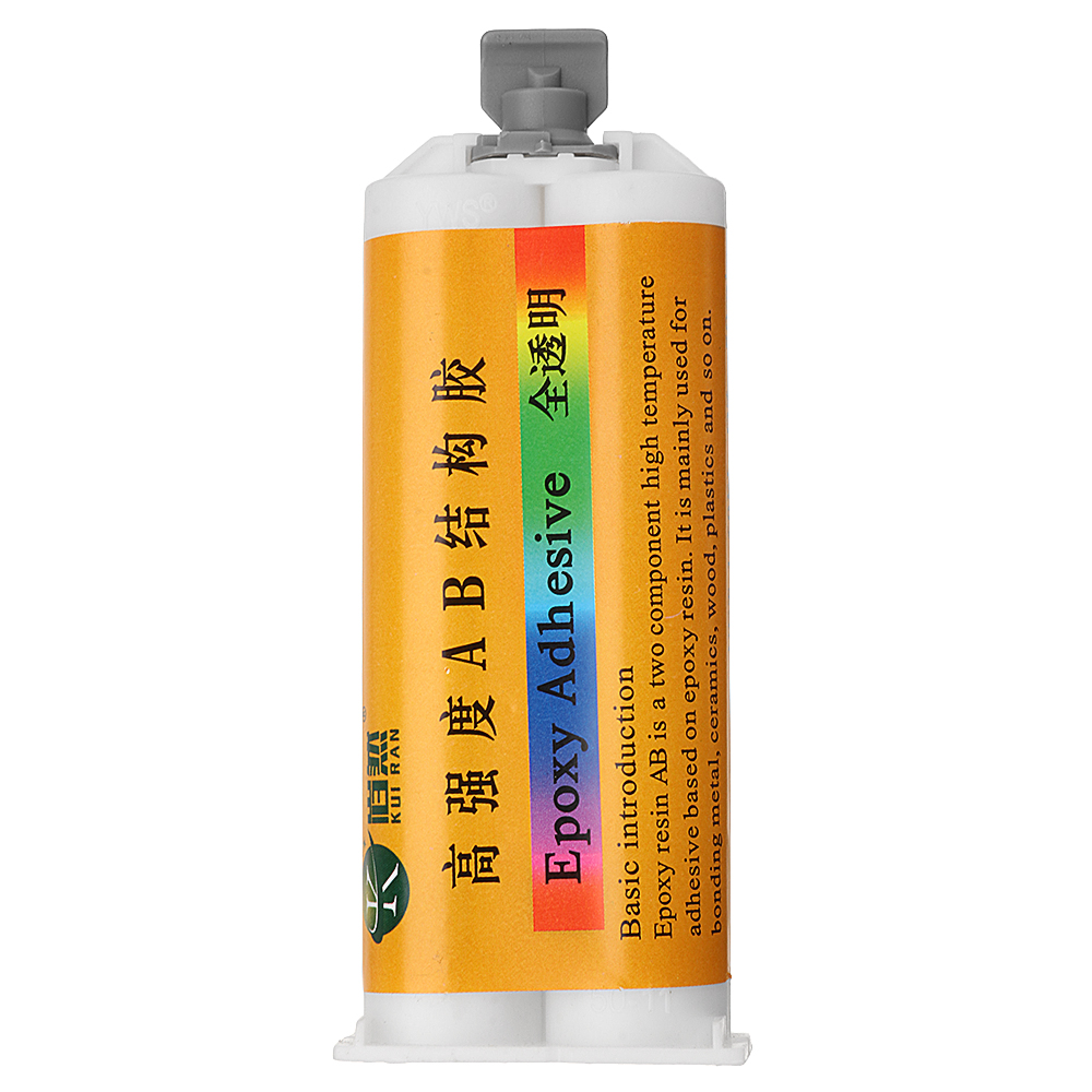 Other Gadgets 50ml Clear Epoxy Resin Ab Adhesive Ceramic