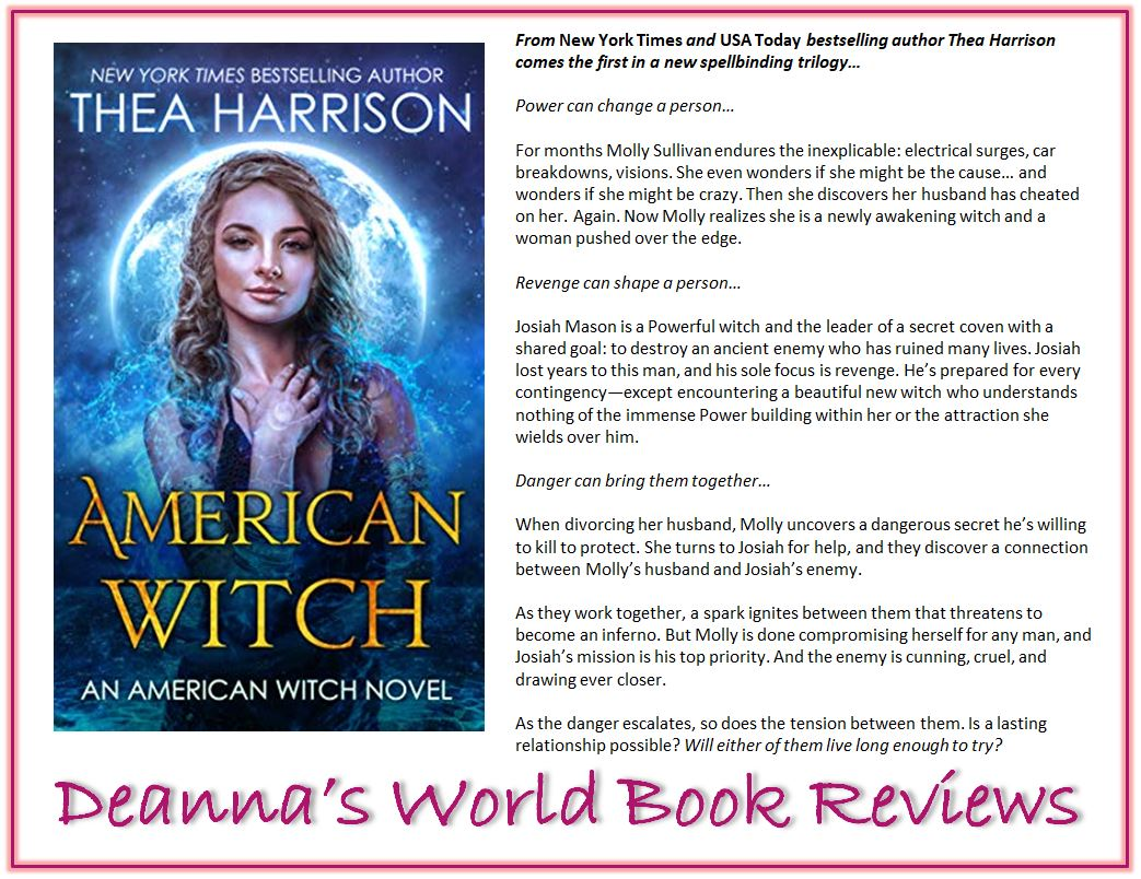 American Witch by Thea Harrison blurb