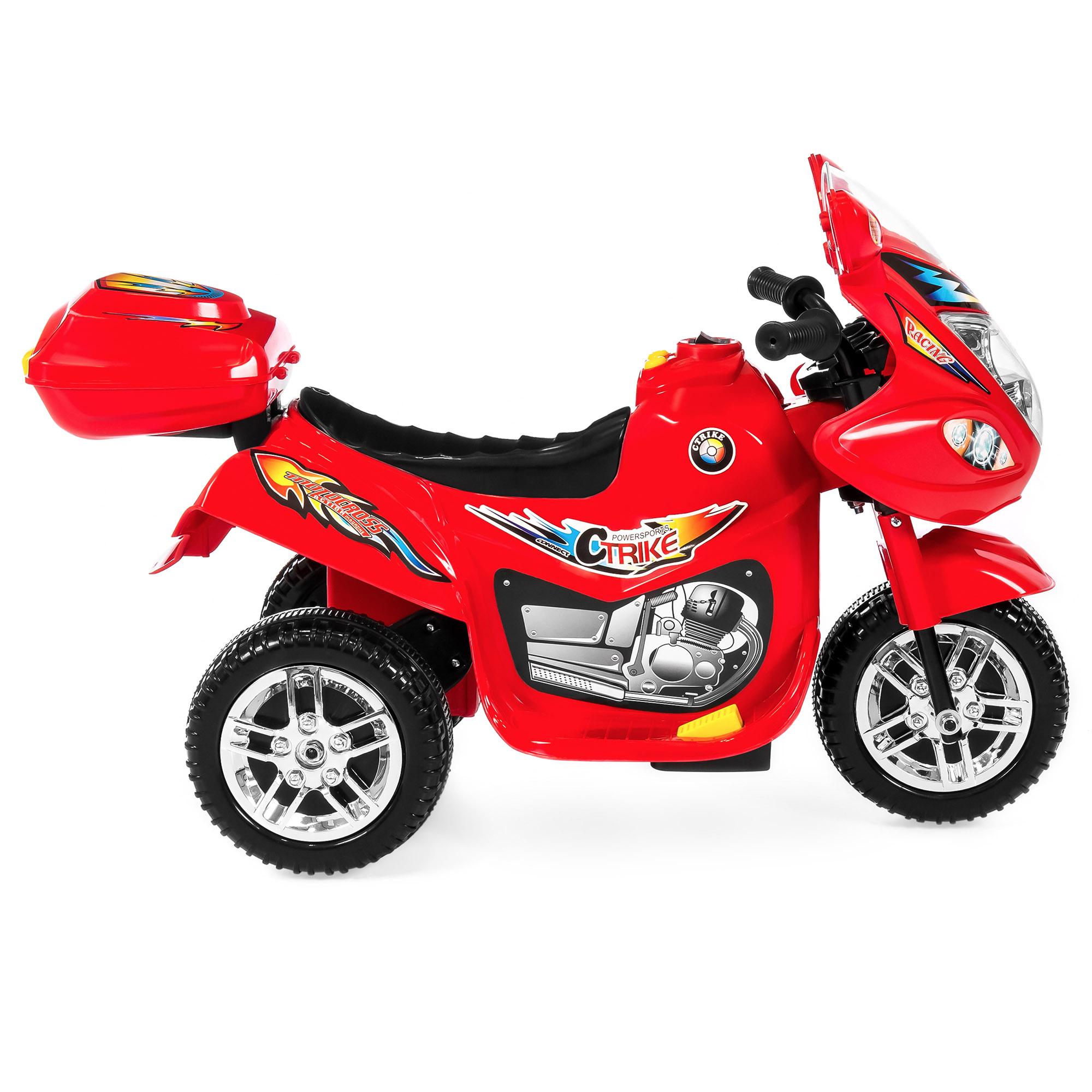 BCP-6V-Kids-3-Wheel-Motorcycle-Ride-On-Toy-w-LED-Lights-Music-Storage thumbnail 32