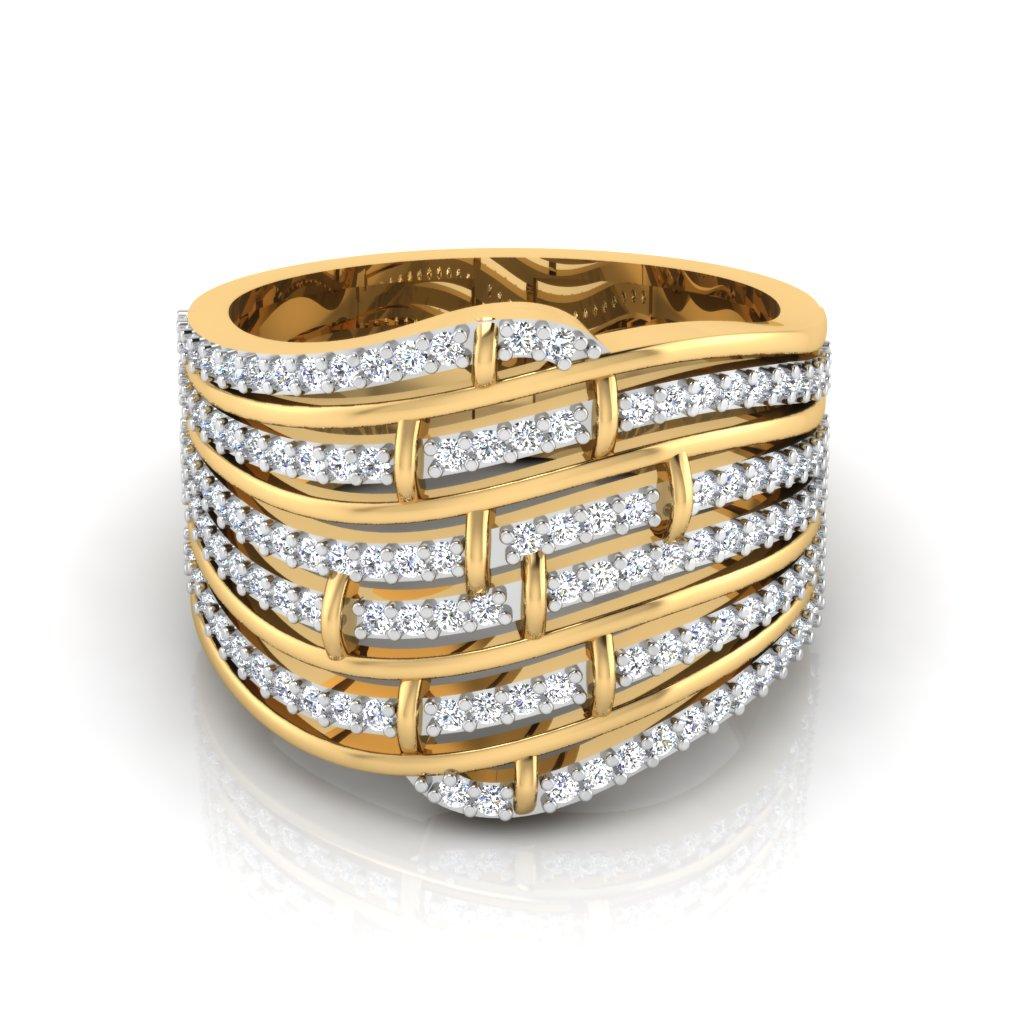 The Majestic Diamond Ring