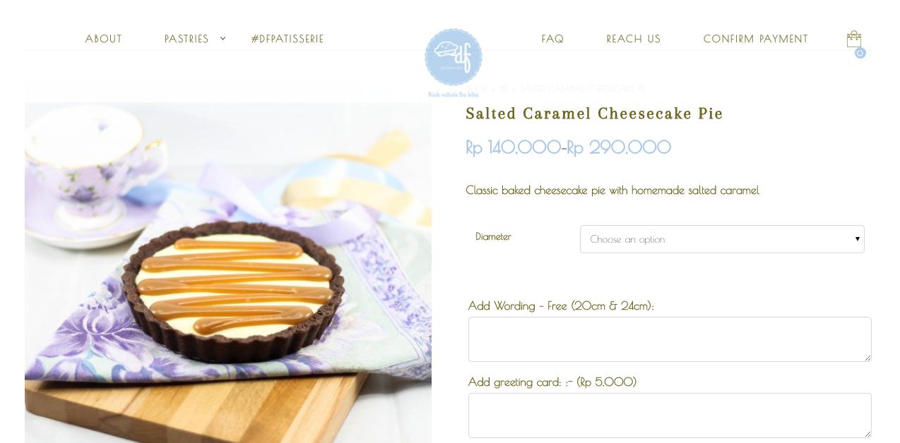 salted caramel cheesecake pie