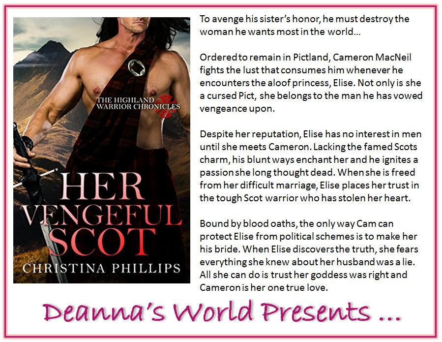 Her Vengeful Scot by Christina Phillips blurb