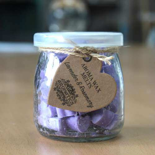 soy wax jar melts - lavender & rosemary