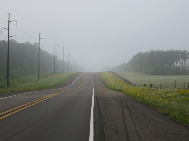 A Misty Start