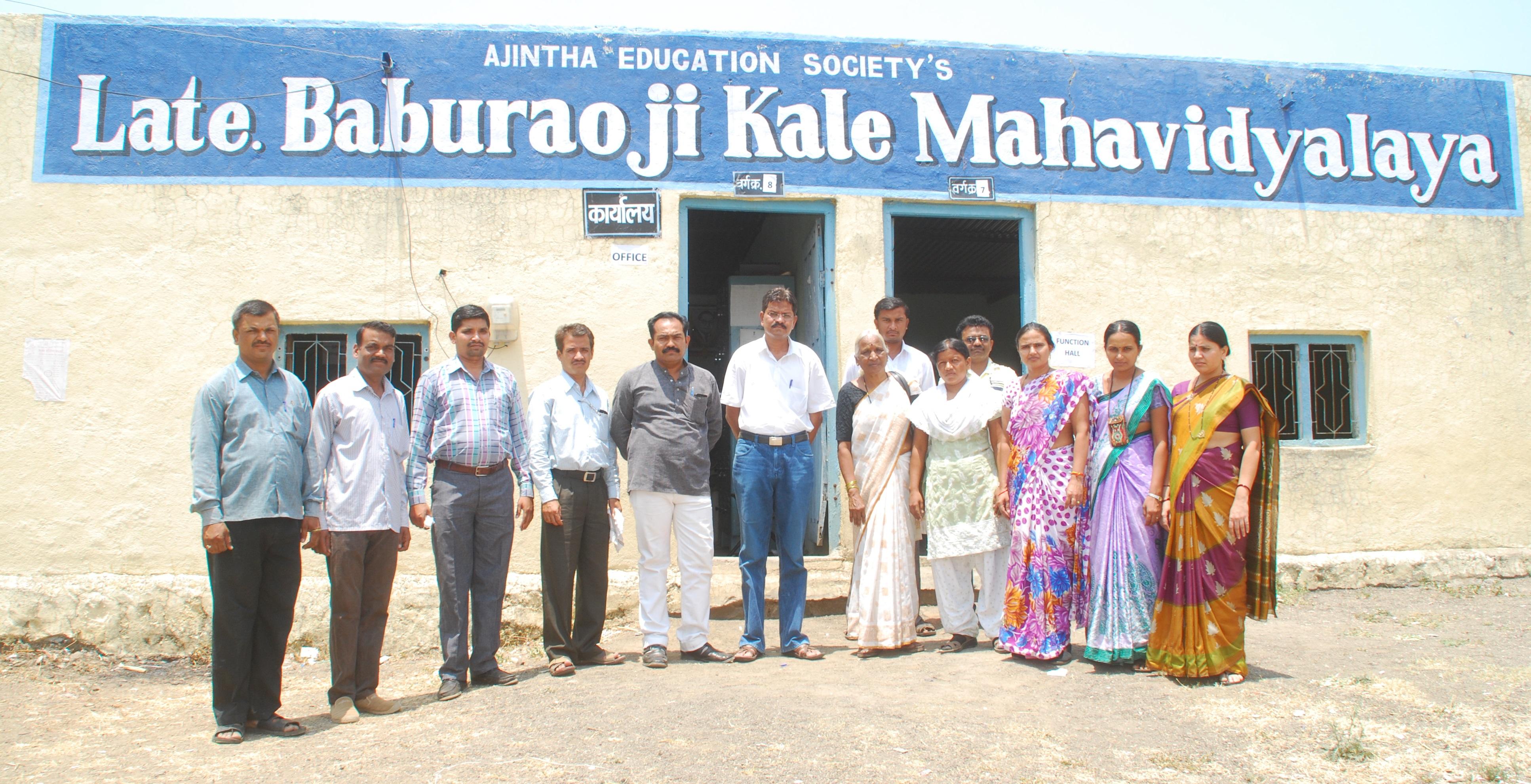 Baburaoji Kale Arts College, Ajintha