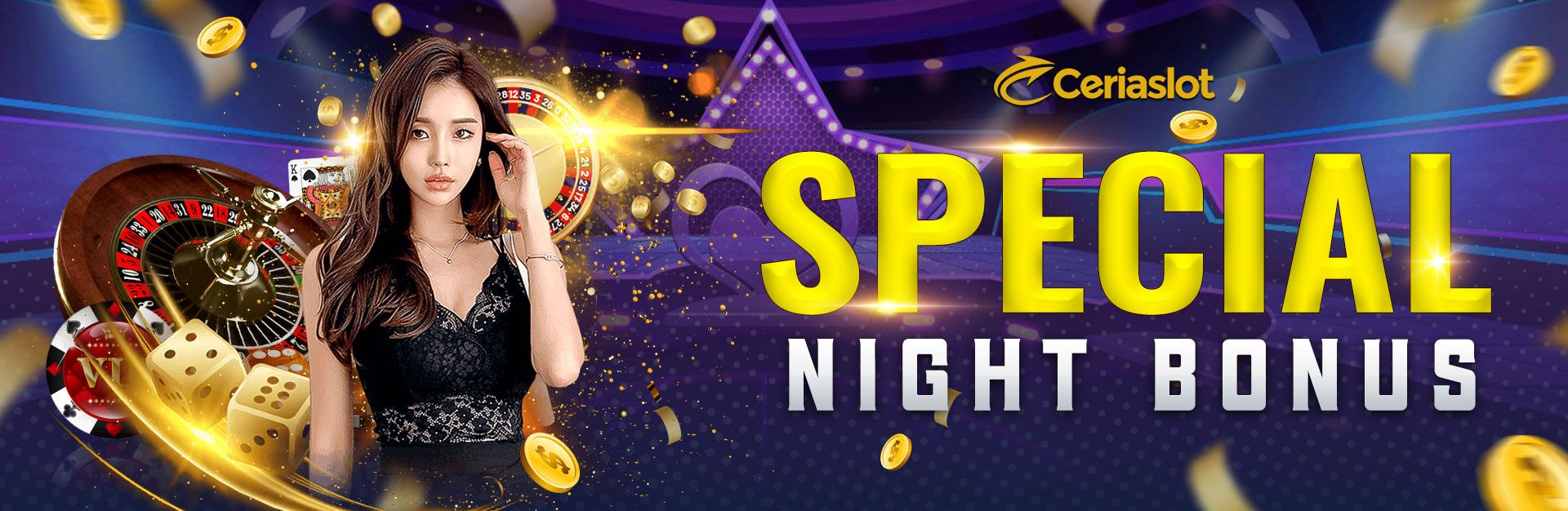 Special Night Bonus - CERIASLOT