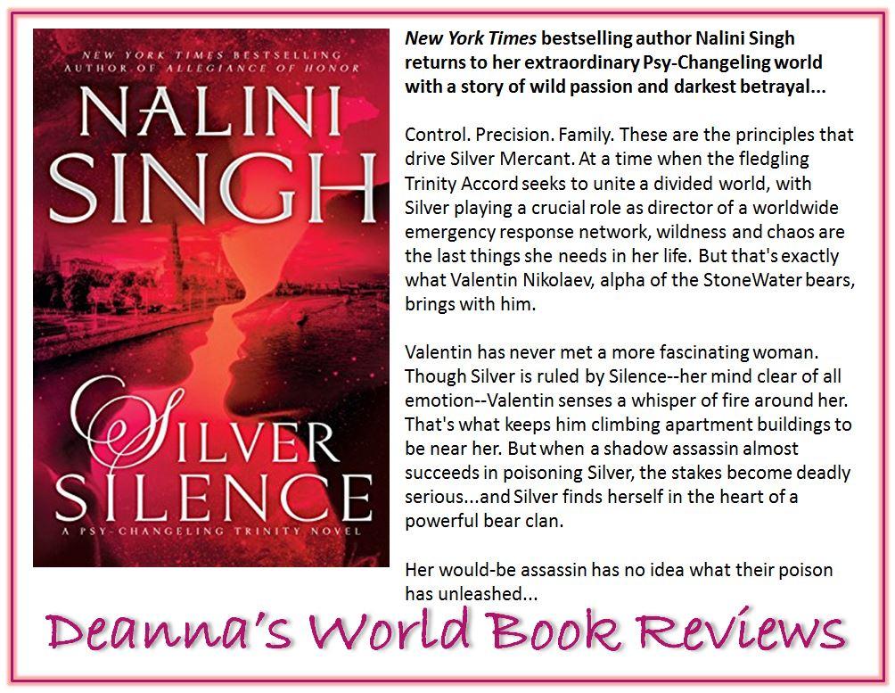 Silver Silence by Nalini Singh blurb