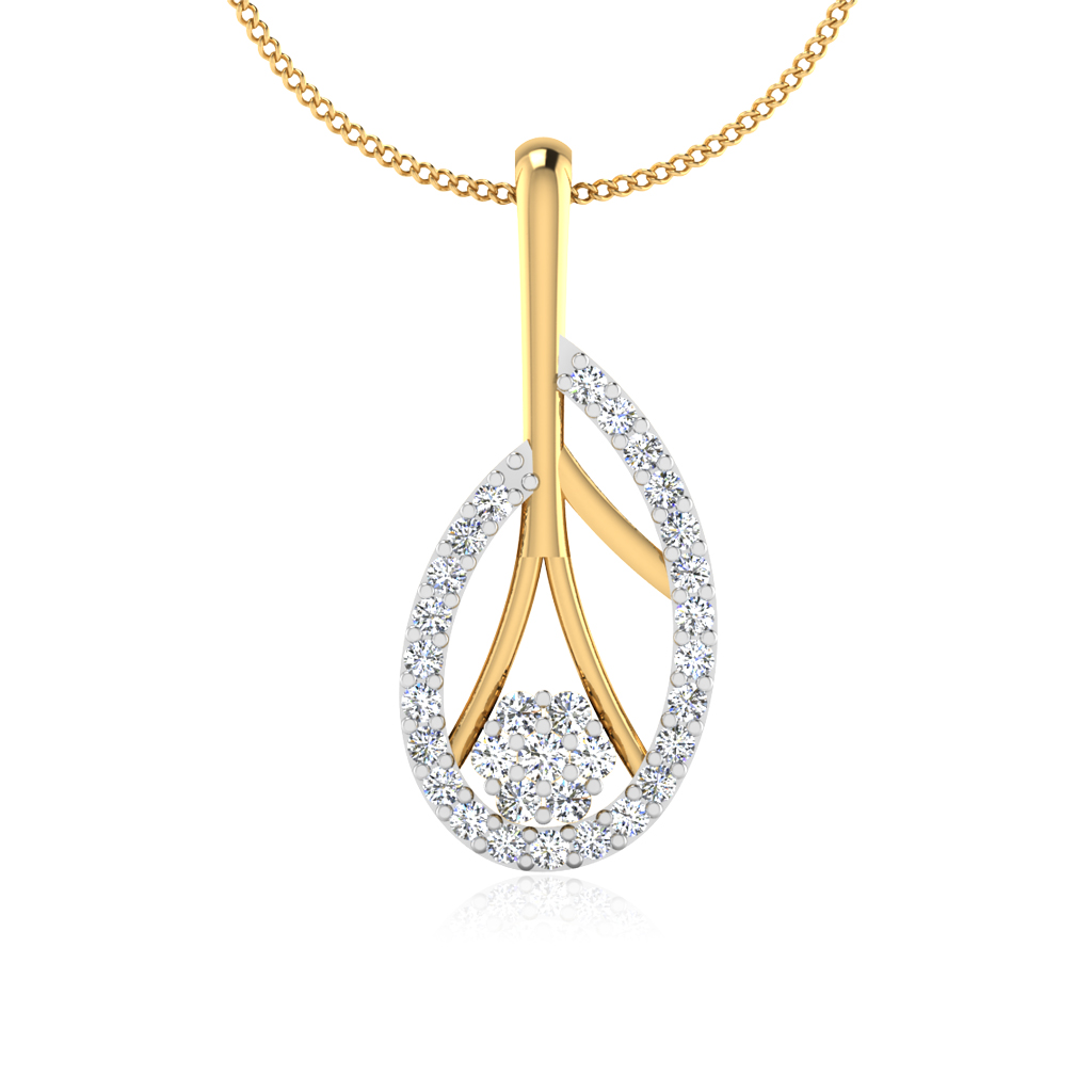 The Lavish Diamond Pendant