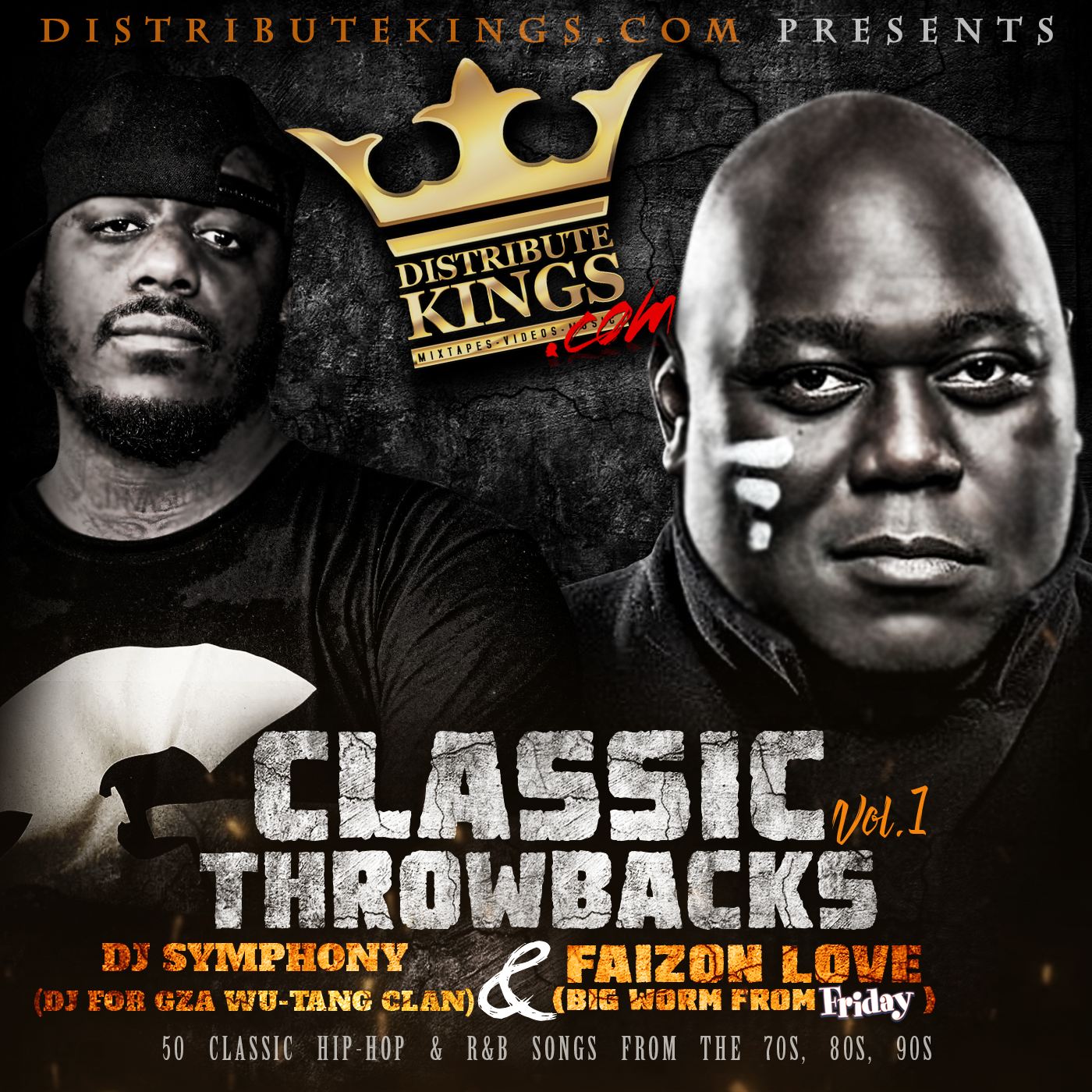 DJ Symphony & Faizon Love - Classic Throwbacks Vol.1