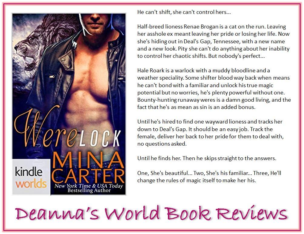 Werelock by Mina Carter blurb