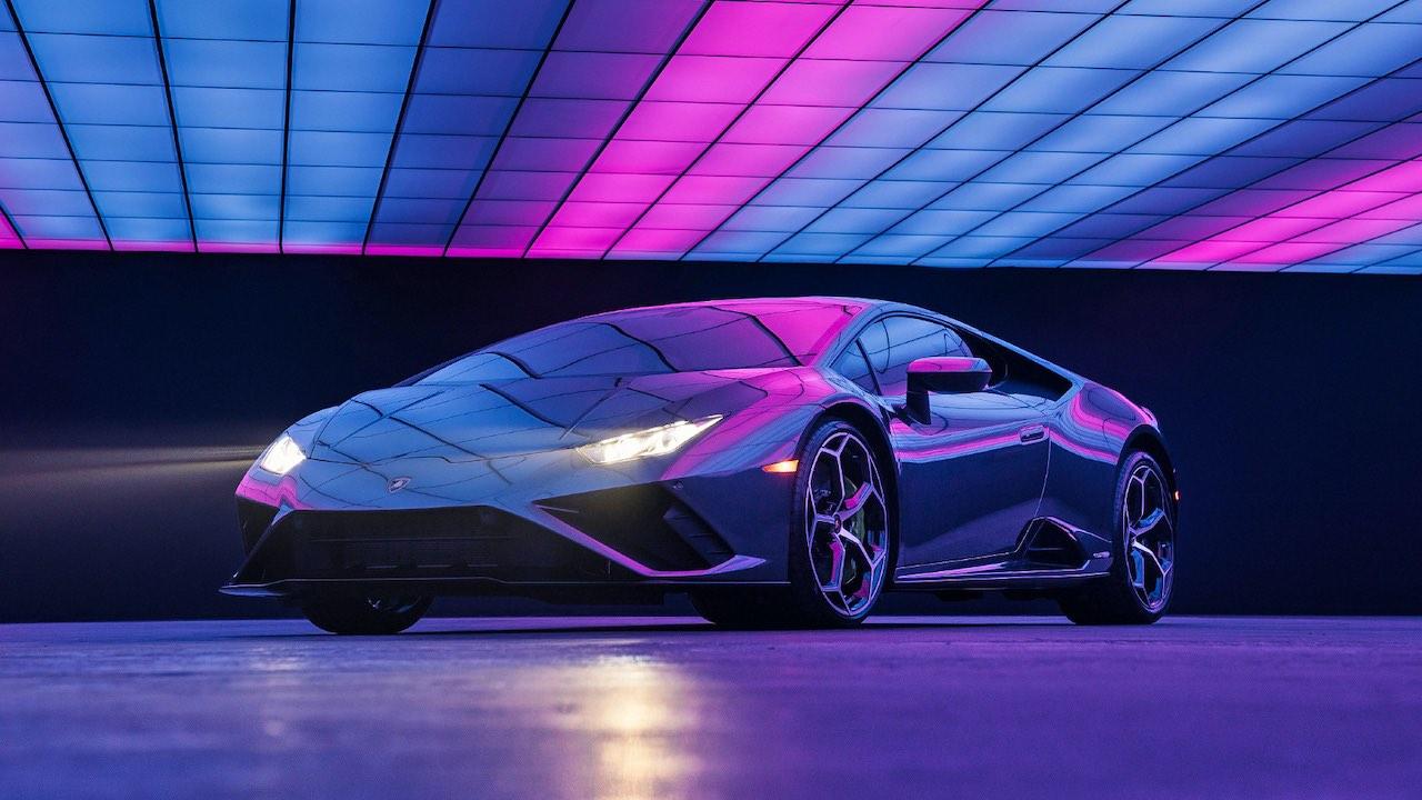 Win the Lamborghini Huracan EVO RWD from Lady Gaga