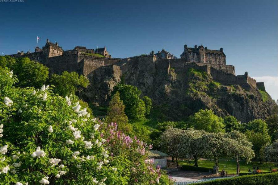 Замок Эдинбург (Edinburgh Castle)