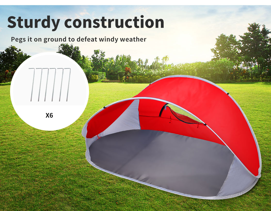 Mountvie-Pop-Up-Tent-Camping-Beach-Tents-4-Person-Portable-Hiking-Shade-Shelter thumbnail 41