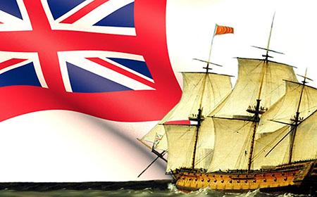 Banderas coloniales del Imperio Británico