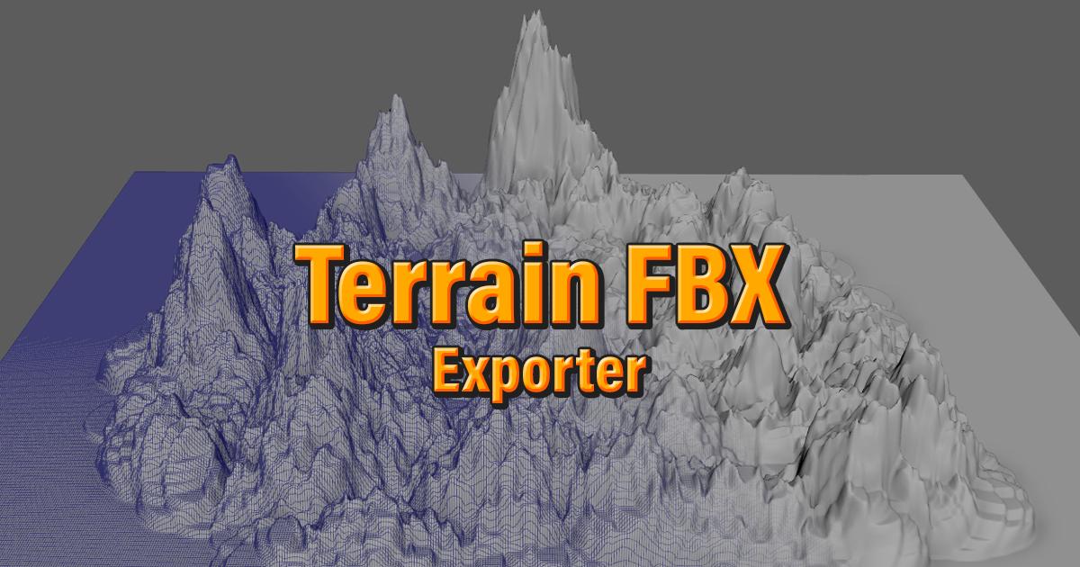 Terrain Fbx Exporter