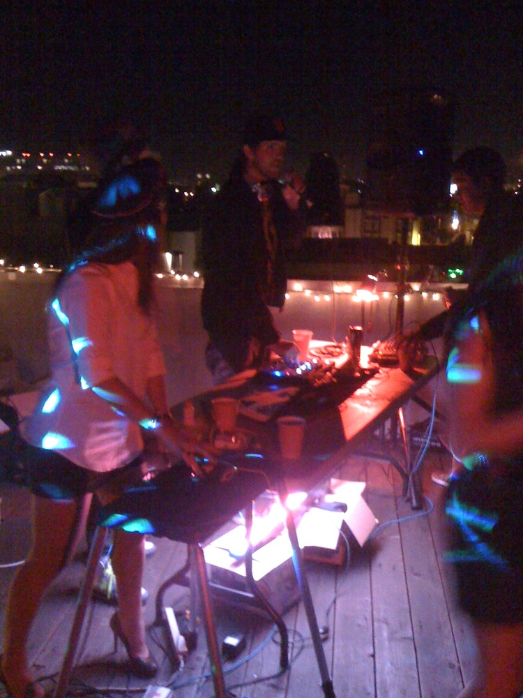 After-Party at AirBnB HQ Rooftop