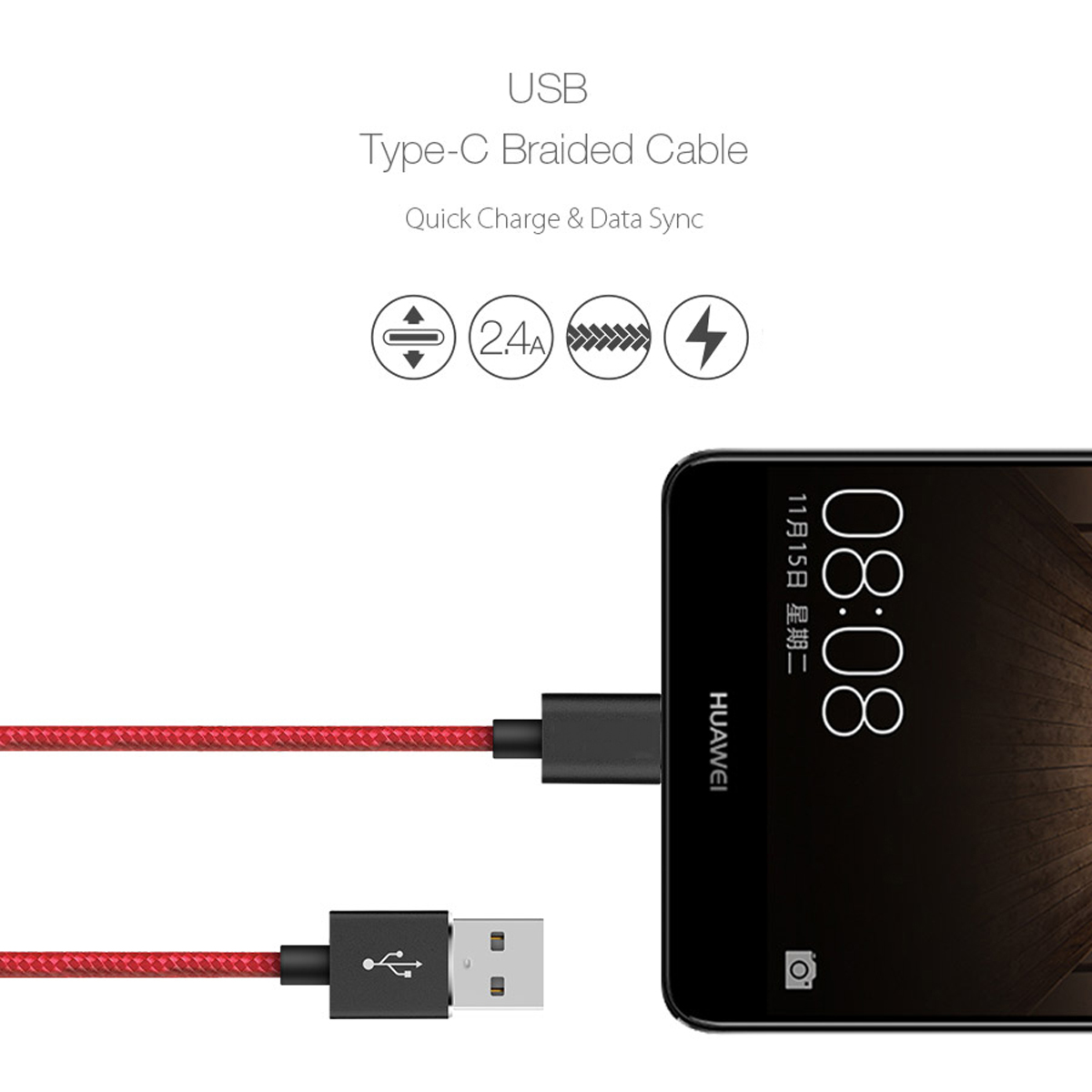 thumbnail 19 - For Samsung Galaxy S10 S10+ Plus Type C USB-C Sync Charger Charging Lead Cable