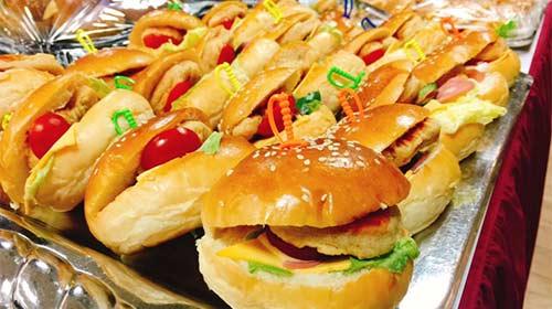 日式香雞堡