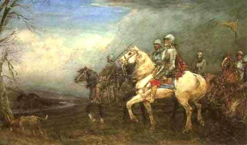 Auld Wat of Harden. Painter Tom Scott