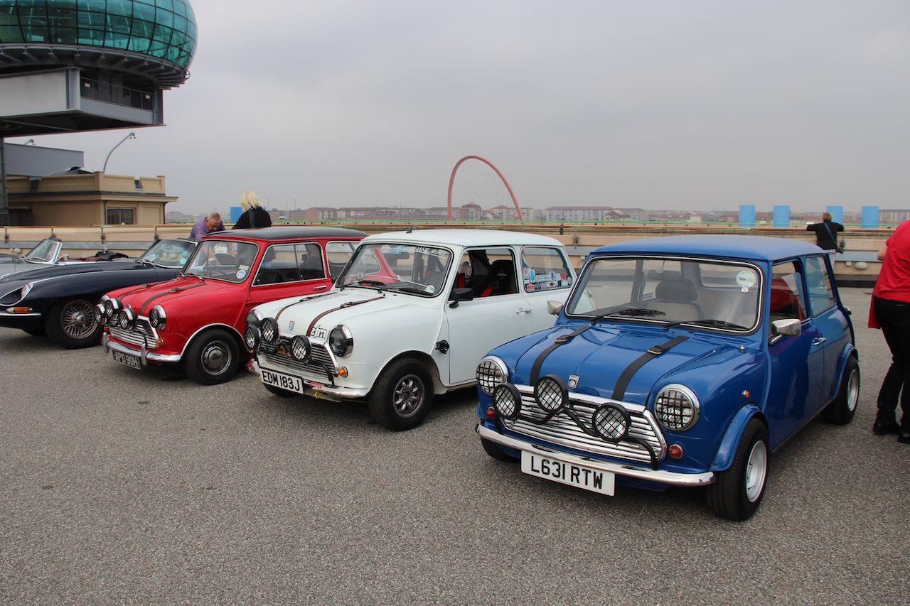 Mini Cooper 60th Anniversary set for E-type 60 Shelsley Walsh