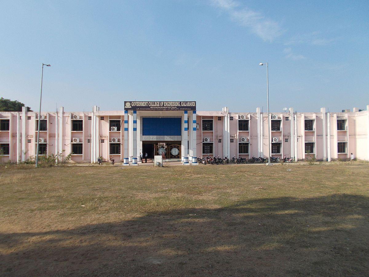 Government College of Engineering, Kalahandi