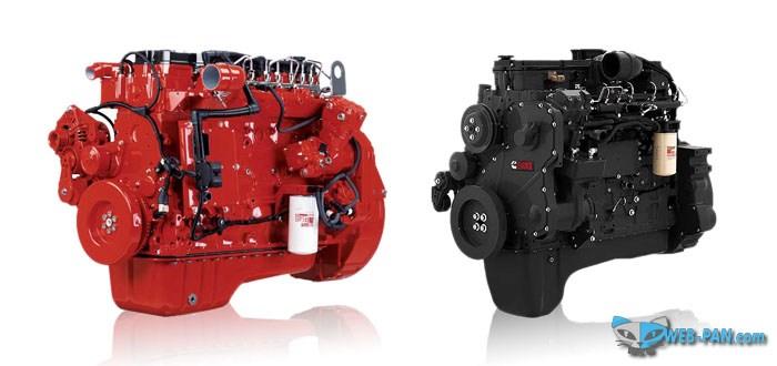 Двигатели для грузовых и специальной техники от Cummins!