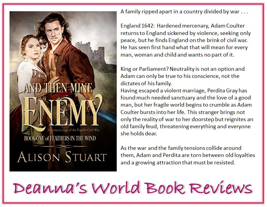 And Then Mine Enemy by Alison Stuart blurb