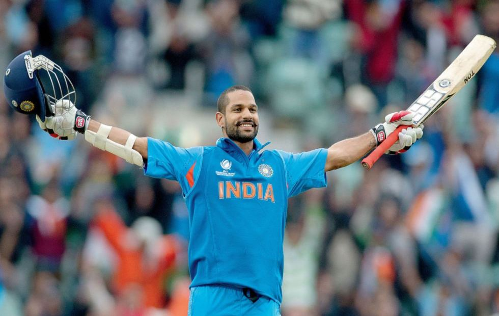 Shikhar Dhawan inn world cup 2015