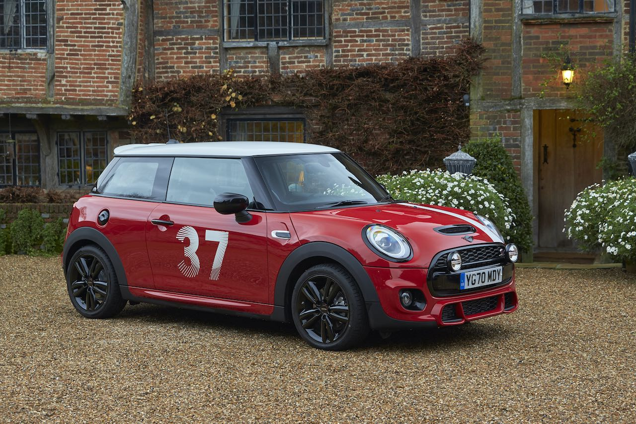 Rally legend receives new MINI Paddy Hopkirk Limited Edition